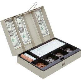 Bulk Mmf Cash Box With Combination Lock