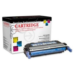 4 Bulk West Point Products Cyan Toner; 7500 Pages