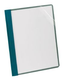 5 Bulk Earthwise By Oxford 100% Recycled Clear Front Report Covers, Letter Size, Blue