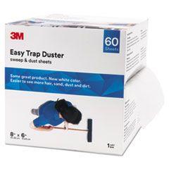 """Bulk Easy Trap Duster, 8"""" X 30ft, White, 60 Sheets/box, 8 Boxes/carton"""
