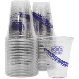 37 Bulk EcO-Products Bluestripe Cold Drink Cups