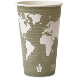 Bulk EcO-Products World Art Hot Beverage Cups