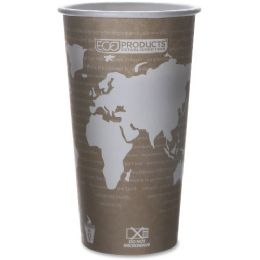 280 Bulk EcO-Products World Art Hot Beverage Cups