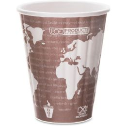 Bulk EcO-Products World Art Insulated Hot Cups