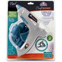 48 Bulk Elmer's Craft Bond Enhanced Safety Dual Temp Glue Gun - Cordless