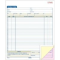 Bulk Adams 3-Part Carbonless Purchase Order Book