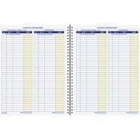Bulk Adams Monthly Bookkeeping Record Book