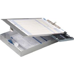 Bulk Oic Aluminum Storage Clipboard With Calculator