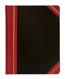 "4 Bulk Adams Record Book, 7-5/8"" X 9-5/8"", 300 Pages"