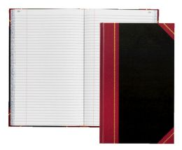 """4 Bulk Adams Record Book, 11-5/8"""" X 7-1/4"""", 500 Pages"""