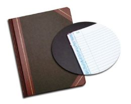 """6 Bulk Adams Record Book, 7-5/8"""" X 9-5/8"""", 150 Pages"""