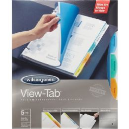Bulk Wilson Jones VieW-Tab Transparent Divider