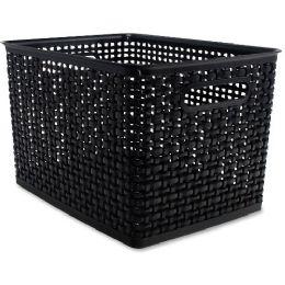 Bulk Advantus Plastic Weave Bin