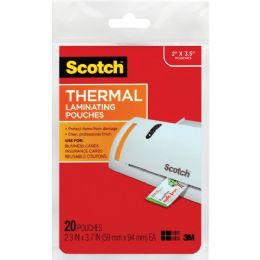 Bulk Scotch Business Card Size Thermal Laminating Pouch
