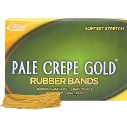 Bulk Alliance Rubber Pale Crepe Gold Rubber Bands