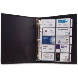 Bulk Anglers 3-Ring Business Card Binder