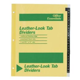 240 Bulk Avery A-Z LeatheR-Look Tab Dividers