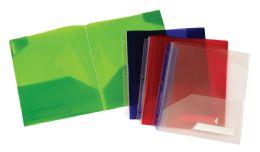 30 Bulk Oxford Twin Pocket Binder Accessory Assorted