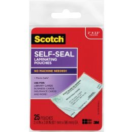 Bulk Scotch SelF-Sealing Laminating Business Card Pouches