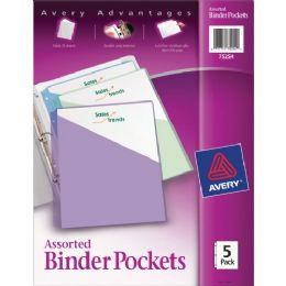 Bulk Avery Durable 3-Ring Poly Binder Pocket