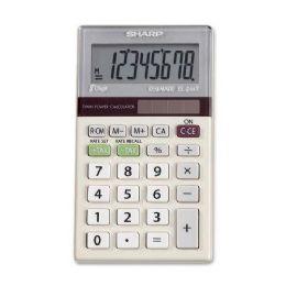 340 Bulk Sharp El244tb DuaL-Power Pocket Calculator