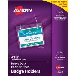 Bulk Avery Flexible Badge Holder