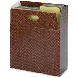15 Bulk Smead 92000 Brown Organized Up Mo Vertical File Case