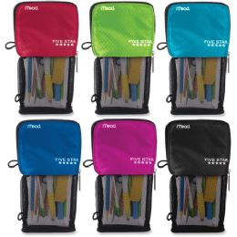 Bulk Five Star Stand 'n Store Carrying Case (pouch) For Pencil, Accessories - Assorted
