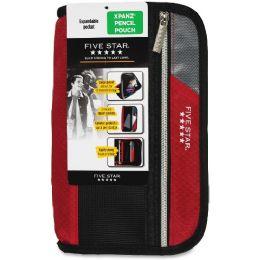 Bulk Five Star Xpanz Carrying Case (pouch) For Pencil, Pen, Supplies - Assorted