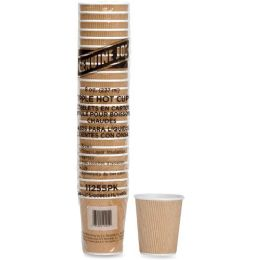 Bulk Genuine Joe Ripple Hot Cups