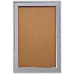 Bulk Ghent 1-Door Enclosed Indoor Bulletin Board