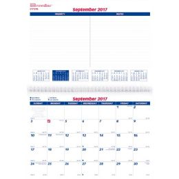 87 Bulk Brownline 16-Month Monthly Wall Calendar