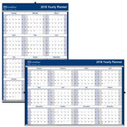 31 Bulk Brownline Laminated Yearly Wall Calendar