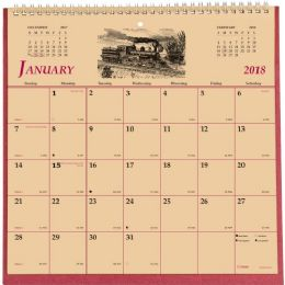 62 Bulk Brownline Monthly Wall Calendar