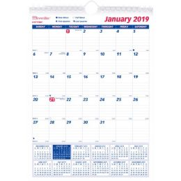 Bulk Brownline Monthly Wall Calendar