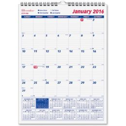 33 Bulk Brownline Monthly Wall Calendar