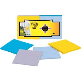 Bulk PosT-It Super Sticky Full Adhesive Note Pads