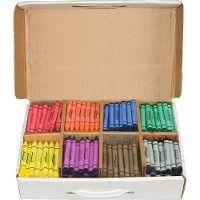 Bulk Prang Master Pack Regular Crayons
