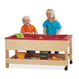 Bulk JontI-Craft Toddler Sensory Table With Shelf