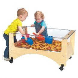 Bulk JontI-Craft Toddler SeE-Thru Sensory Table