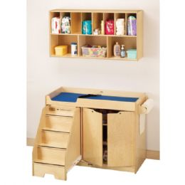 Bulk JontI-Craft Changing Table - With Stairs Combo - Left