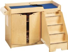 Bulk JontI-Craft Changing Table - With Stairs - Right
