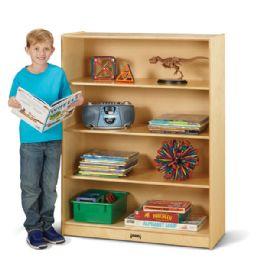 Bulk JontI-Craft Tall Fixed StraighT-Shelf Bookcase