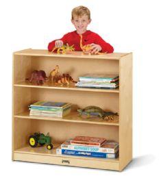 Bulk JontI-Craft Fixed StraighT-Shelf Bookcase