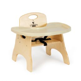 "Bulk JontI-Craft High Chairries Tray - 5"" Seat Height"