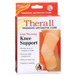 Bulk Therall Knee Support Joint Warming Beige xl