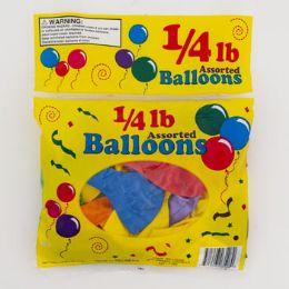 96 Bulk Balloons 1/4 Lb Asst 7/9/11 Inch In Asst Colors
