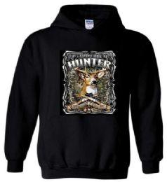 6 Bulk Black color Hoody American Hunter Plus Size