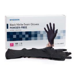 1000 Bulk Black Nitrile Exam Gloves Textured Non Sterile Size Large
