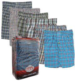 48 Bulk Boxer Shorts Single Pack Size 2XL Pack of 1
